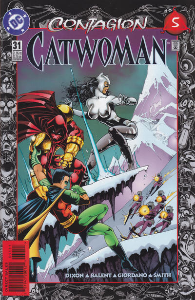 Cover for Catwoman (DC, 1993 series) #31 [Direct Edition]