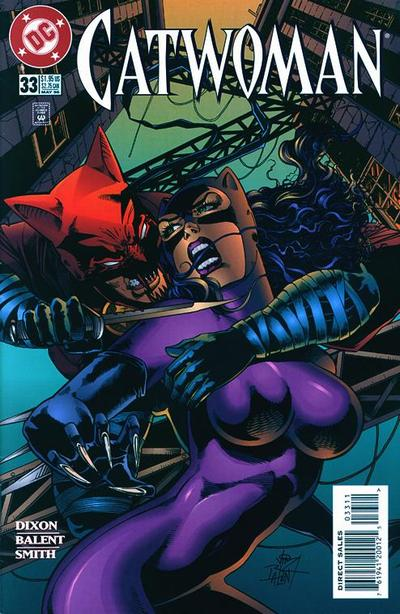 Cover for Catwoman (DC, 1993 series) #33