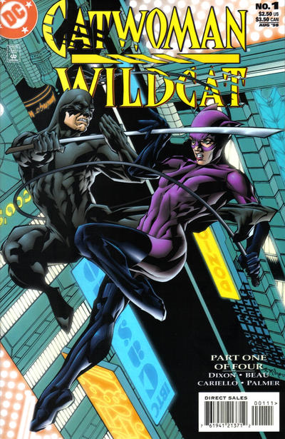 Cover for Catwoman / Wildcat (DC, 1998 series) #1