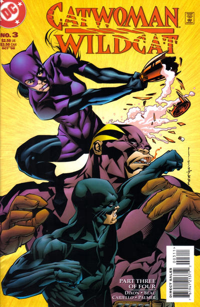 Cover for Catwoman / Wildcat (DC, 1998 series) #3