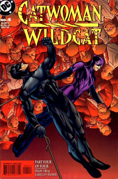Cover for Catwoman / Wildcat (DC, 1998 series) #4