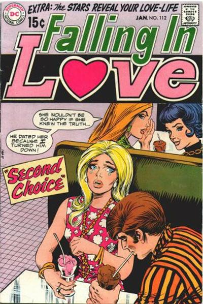 Cover for Falling in Love (DC, 1955 series) #112