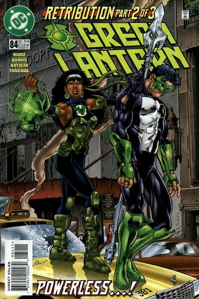 Cover for Green Lantern (DC, 1990 series) #84