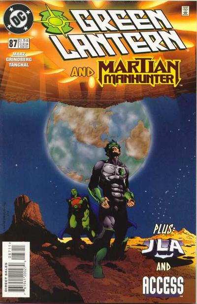 Cover for Green Lantern (DC, 1990 series) #87