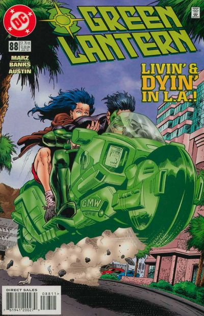 Cover for Green Lantern (DC, 1990 series) #88