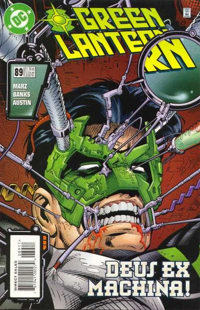 Cover for Green Lantern (DC, 1990 series) #89