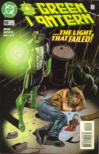 Cover for Green Lantern (DC, 1990 series) #90