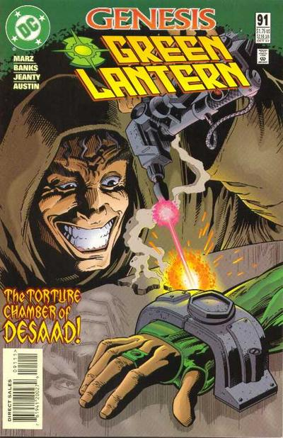 Cover for Green Lantern (DC, 1990 series) #91