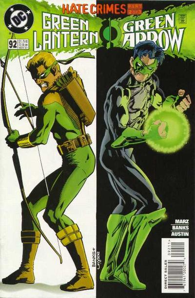 Cover for Green Lantern (DC, 1990 series) #92