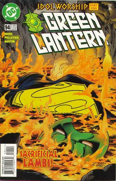 Cover for Green Lantern (DC, 1990 series) #94