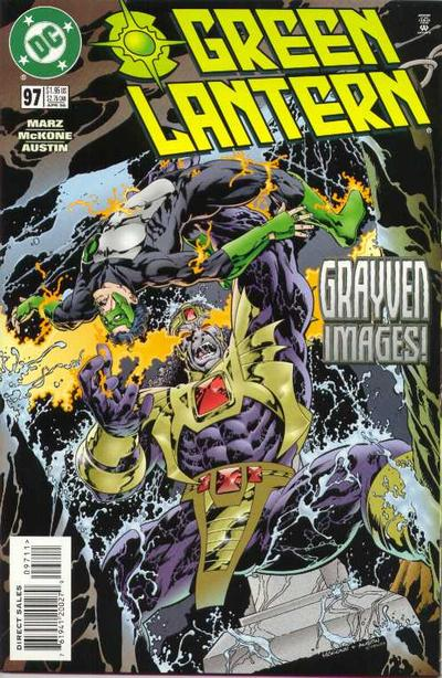 Cover for Green Lantern (DC, 1990 series) #97 [Direct Sales]