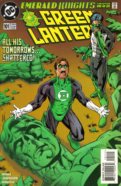 Cover for Green Lantern (DC, 1990 series) #101 [Direct Sales]
