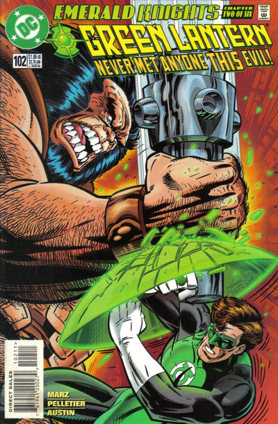 Cover for Green Lantern (DC, 1990 series) #102