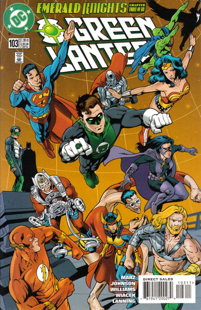 Cover for Green Lantern (DC, 1990 series) #103 [Direct Sales]