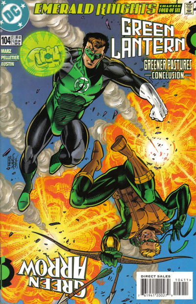 Cover for Green Lantern (DC, 1990 series) #104 [Direct Sales]