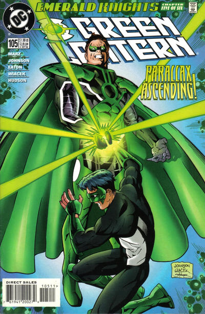 Cover for Green Lantern (DC, 1990 series) #105