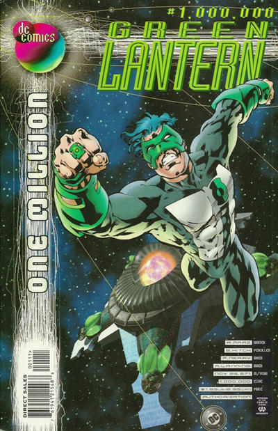 Cover for Green Lantern (DC, 1990 series) #1,000,000