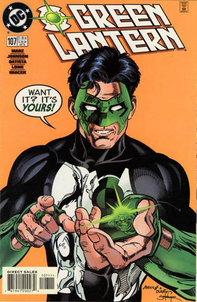 Cover for Green Lantern (DC, 1990 series) #107 [Direct Sales]