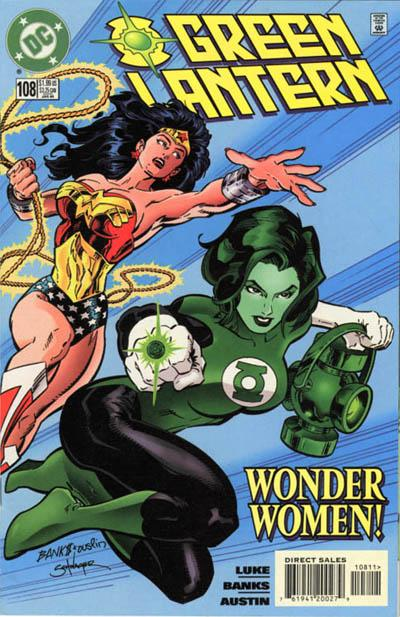 Cover for Green Lantern (DC, 1990 series) #108