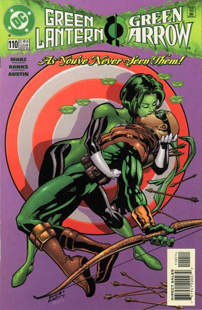 Cover for Green Lantern (DC, 1990 series) #110