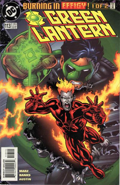 Cover for Green Lantern (DC, 1990 series) #113