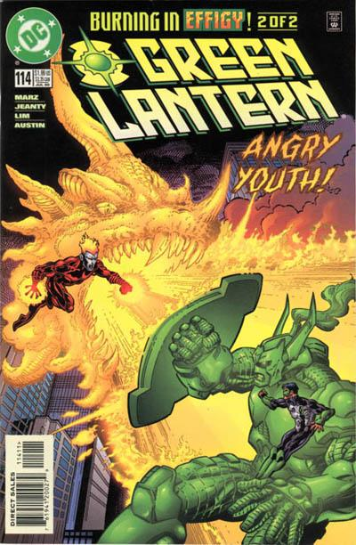 Cover for Green Lantern (DC, 1990 series) #114 [Direct Sales]