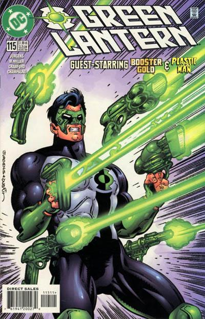 Cover for Green Lantern (DC, 1990 series) #115