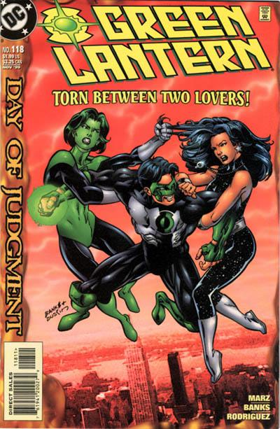 Cover for Green Lantern (DC, 1990 series) #118 [Direct Sales]