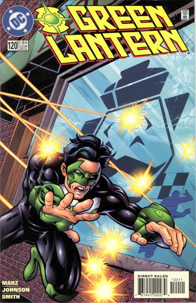 Cover for Green Lantern (DC, 1990 series) #120