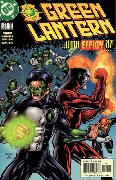 Cover for Green Lantern (DC, 1990 series) #122 [Direct Sales]