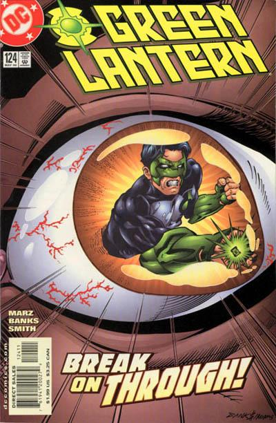 Cover for Green Lantern (DC, 1990 series) #124