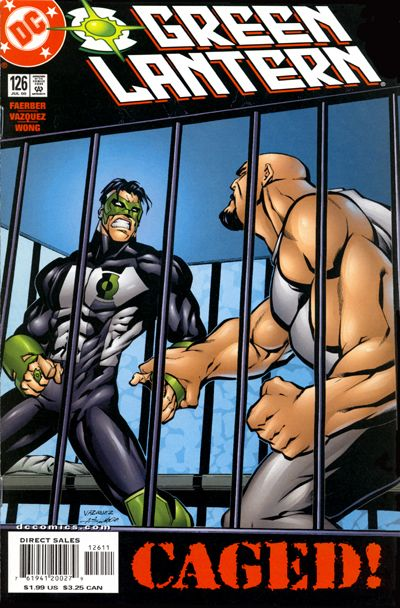 Cover for Green Lantern (DC, 1990 series) #126