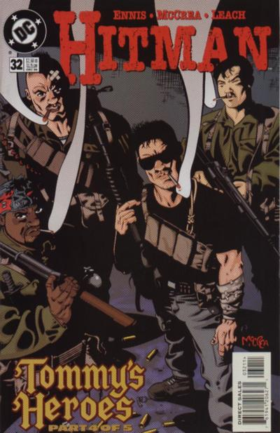 Cover for Hitman (DC, 1996 series) #32