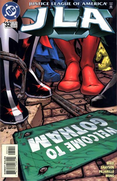 Cover for JLA (DC, 1997 series) #32