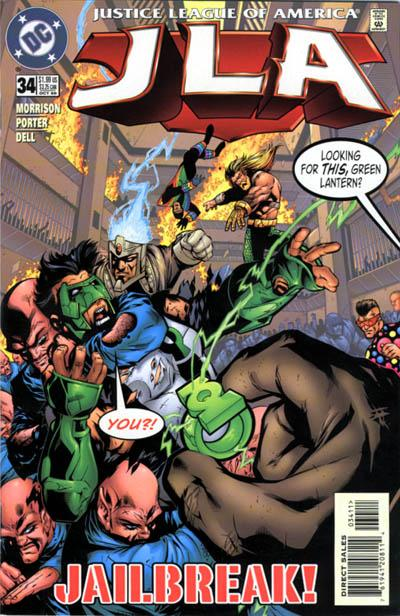 Cover for JLA (DC, 1997 series) #34
