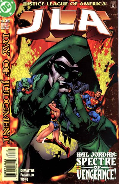 Cover for JLA (DC, 1997 series) #35
