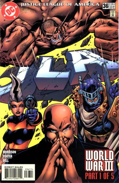 Cover for JLA (DC, 1997 series) #36