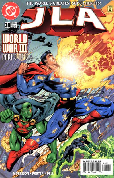 Cover for JLA (DC, 1997 series) #38