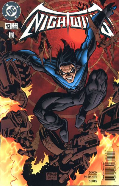 Cover for Nightwing (DC, 1996 series) #12