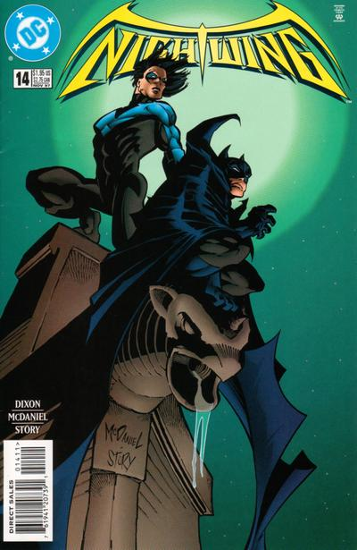Cover for Nightwing (DC, 1996 series) #14