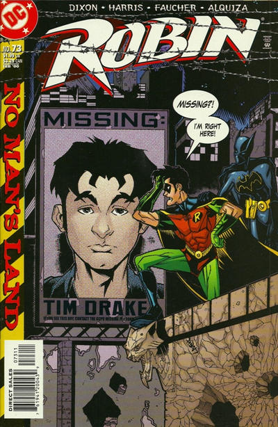 Cover for Robin (DC, 1993 series) #73