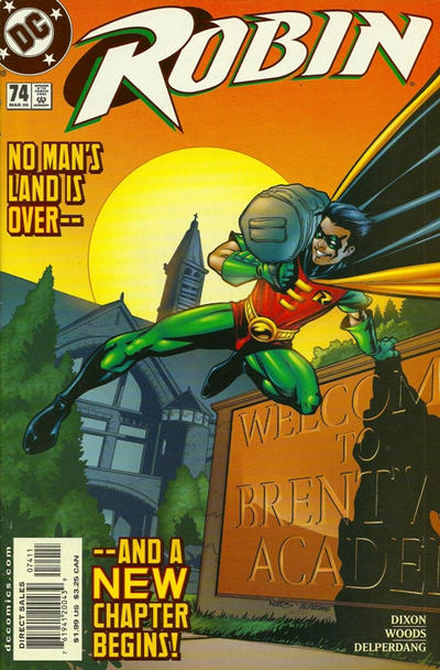 Cover for Robin (DC, 1993 series) #74