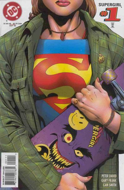 Cover for Supergirl (DC, 1996 series) #1 [First Printing]