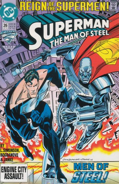 Cover for Superman: The Man of Steel (DC, 1991 series) #26