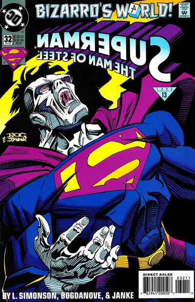 Cover for Superman: The Man of Steel (DC, 1991 series) #32