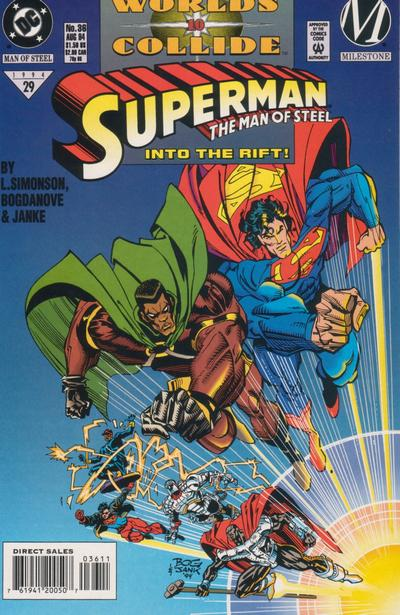 Cover for Superman: The Man of Steel (DC, 1991 series) #36