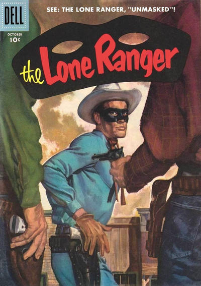 Cover for The Lone Ranger (Dell, 1948 series) #100