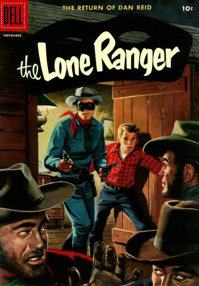 Cover for The Lone Ranger (Dell, 1948 series) #101