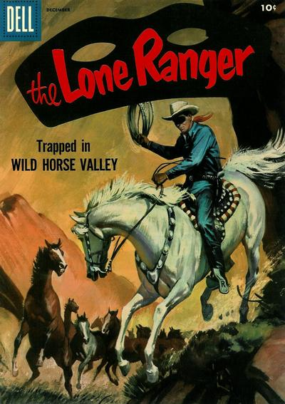 Cover for The Lone Ranger (Dell, 1948 series) #102