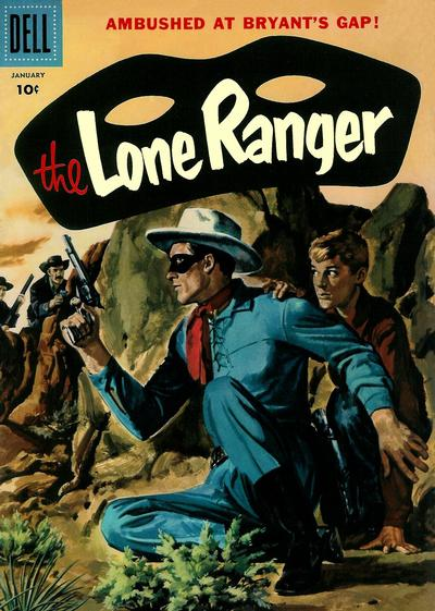 Cover for The Lone Ranger (Dell, 1948 series) #103